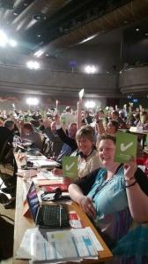Folkekirkens delegation stemte for de nue vedtægter for CEC.