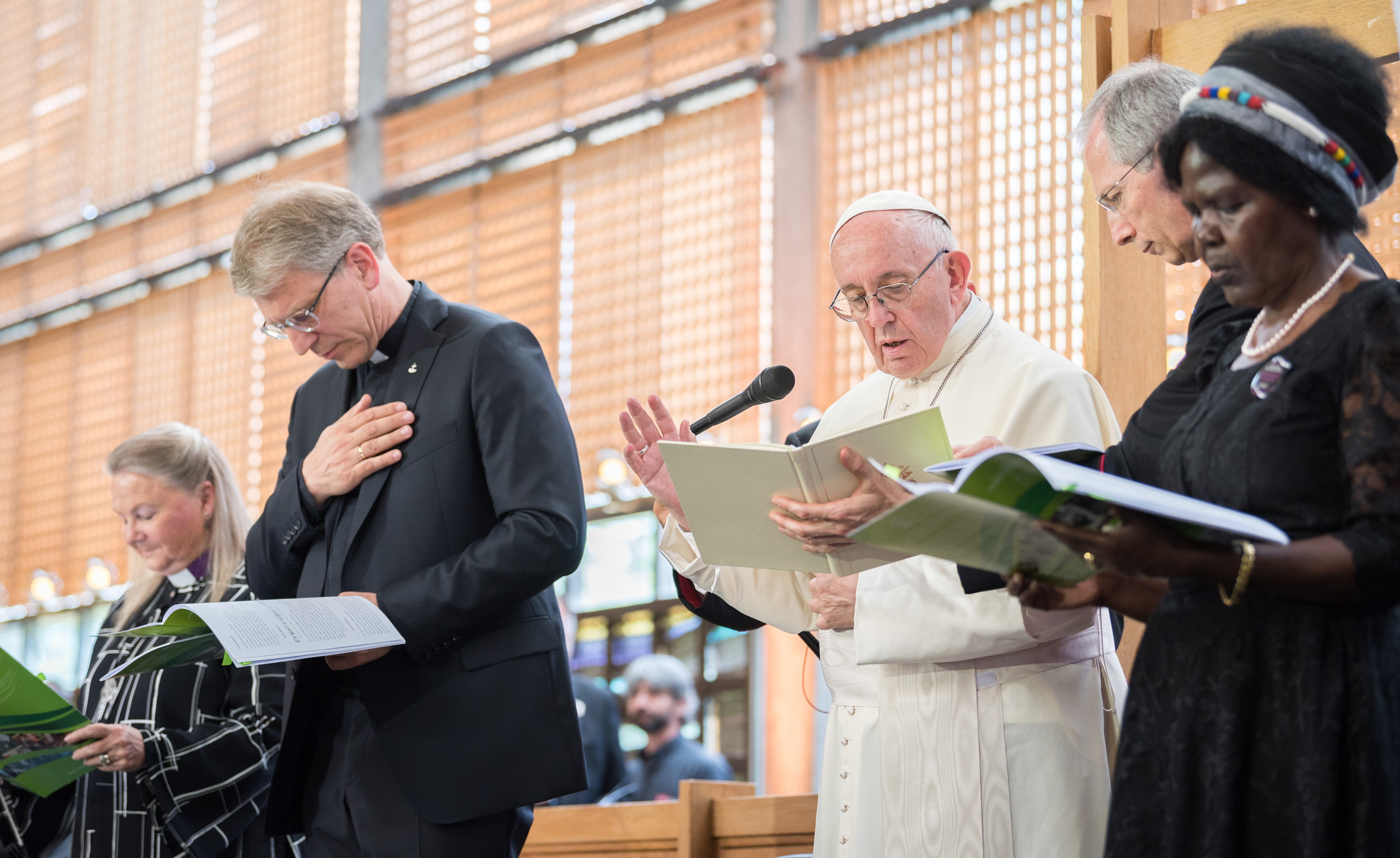 Pope Francis visits WCC